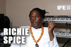 Richie Spice Full Interview on IFETOP10
